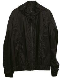 Zsigmond Dora Menswear Soot Raincoat - Black