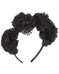 Vjera Vilicnik - Carnation Headband Black - Lyst
