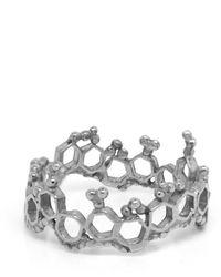Annabelle Lucilla Jewellery Apollo Ring Silver - Metallic