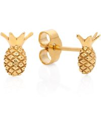 Lee Renee | Pineapple Stud Earrings | Lyst