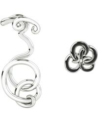 1986 - Wiggle Wiggle Twist & Hug Cloud White & Rhodium - Lyst