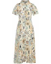 Gyunel - Print Shirt Dress - Lyst