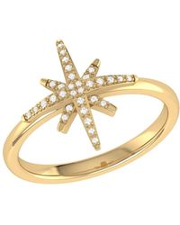LMJ North Star Ring In 14 Kt Yellow Gold Vermeil On Sterling Silver - Metallic