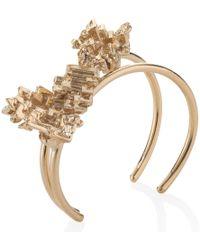 Noritamy - Gold Bismuth Bangle - Lyst