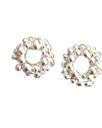 Lily Flo Jewellery - Rock Chic Circle Stud Earrings - Lyst