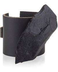 Noritamy - Black Rock Cuff - Lyst