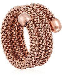 Durrah Jewelry Rose Spring Ring - Multicolor