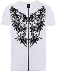 Raddar7 - Scorpion Flower Gothic Print T-shirt - Lyst