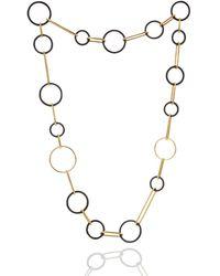 Manja - Koco Midnight Circles Long Necklace - Lyst