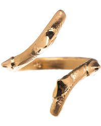 Nina Kastens Jewelry - Lena Ring Gold - Lyst