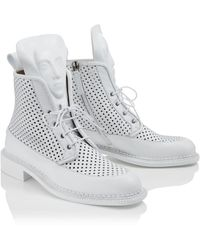 Ganor Dominic Zelos White Perforated