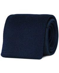 Tom Astin Marine Machine Necktie - Blue