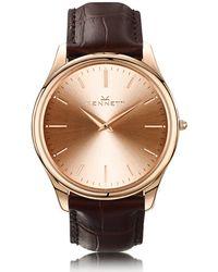 Kennett Watches - Kensington Rose Gold Dark Brown - Lyst