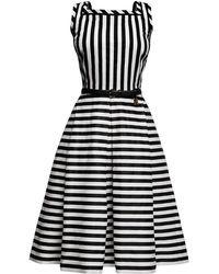 Rumour London - Riviera Striped Sleeveless Dress - Lyst