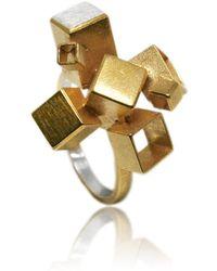 Karolina Bik Jewellery - Fujimoto Tall Ring - Lyst