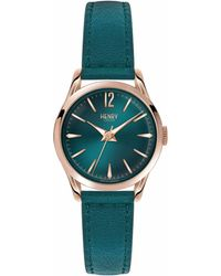 Henry London - Ladies 25mm Stratford Leather Watch - Lyst