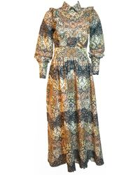 relax baby be cool Pisang Bali Long Sleeve Maxi Dress - Multicolour