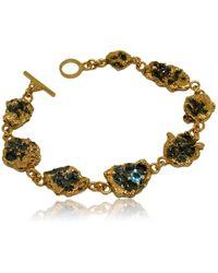 Karolina Bik Jewellery Out Of The Sea Loose Bracelet - Metallic