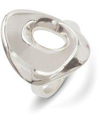 KIMSU - Halo Silver Ring - Lyst