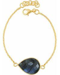 Juvi Designs - Egadi Tear Drop Bracelet With Labradorite - Lyst