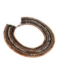 Miss High & Low - Cleopatra Necklace - Lyst