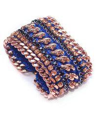 Miss High & Low - Royal Gold Bracelet - Lyst