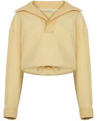 Nocturne Hooded Sweatshirt - Yellow