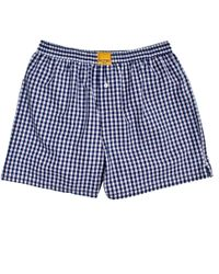 Kloters Milano | Checked Blue Boxer Shorts | Lyst