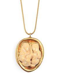 Tadam! Design - Walnut With Gold Glaze - Lyst