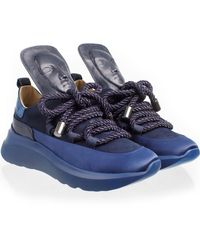 Ganor Dominic Ghost Midnight Trainers - Blue