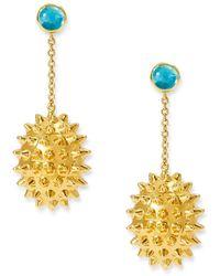 Alexandra Alberta - Durian Topaz Earrings - Lyst