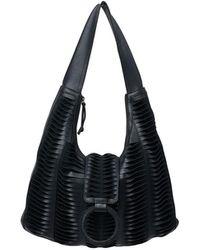 Lilla Lane Santana Hobo Couture Black & Black