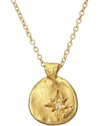 Chupi - Your North Star Necklace In Gold - Lyst