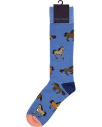 lords of harlech Donald Horses - Blue