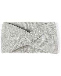 Alma Knitwear Tula Merino Earwarmer Light Grey