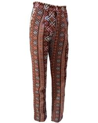 relax baby be cool Womens Long Pants With Pearl Embroidery - Multicolour