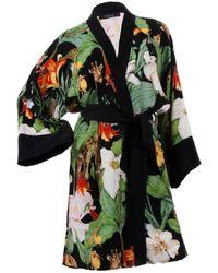 niLuu Monroe Mini Kimono Robe - Multicolour