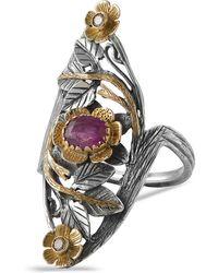 Emma Chapman Jewels - Siren Ruby Diamond Ring - Lyst