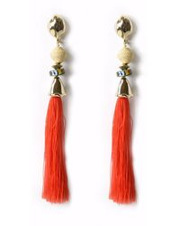 Akola Celia Earring - Red