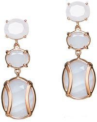 Alexandra Alberta - Lexington Light Blue Earrings - Lyst