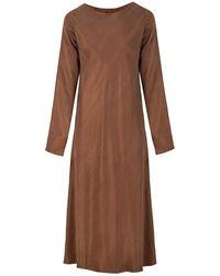 Flow Y Minimal Dress In Brown