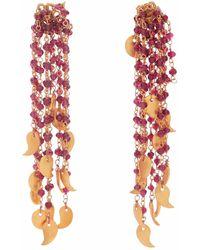 Carousel Jewels | Garnet Waterfall Earrings | Lyst