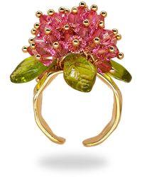 Annele Lady Lotus Ring - Multicolour
