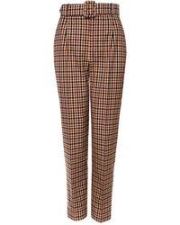 AGGI Tracey Autumn Glaze Trousers - Brown