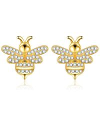 Opes Robur - Bumble Bee Earrings - Lyst