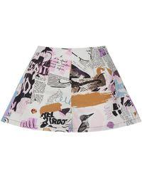 Nocturne Printed Mini Shorts - Multicolor