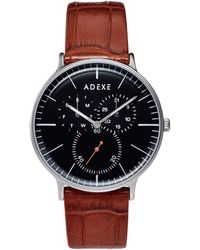 ADEXE Watches | They Grande Silver & Light Brown | Lyst