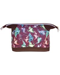 Fonfique - Auriga Washbag In Imperial Burgundy - Lyst