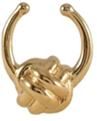 MARIE JUNE Jewelry - Monkey Paw Knot Gold Septum Ring - Lyst