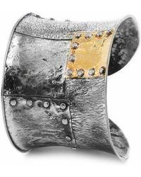Katarina Cudic Elements Concave Cuff - Metallic